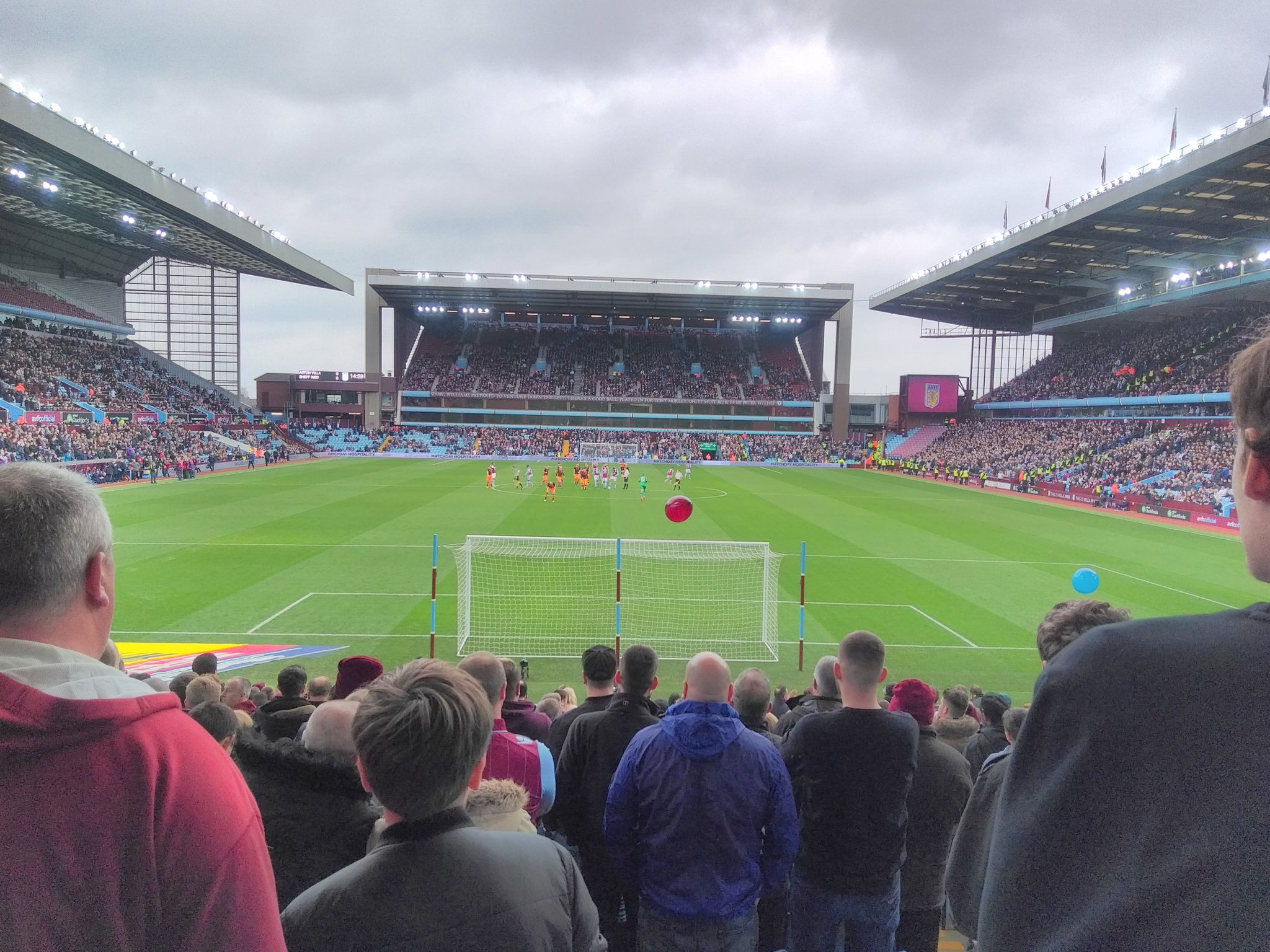 aston villa Sheffield Wednesday holte end villa park