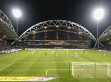 Huddersfield Aston Villa John Smiths Stadium : Photo Credit : Twitter: Neil Iwanicki