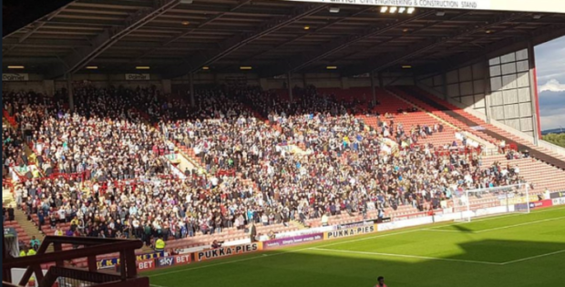 Aston Villa Fans Barnsley - 3-0