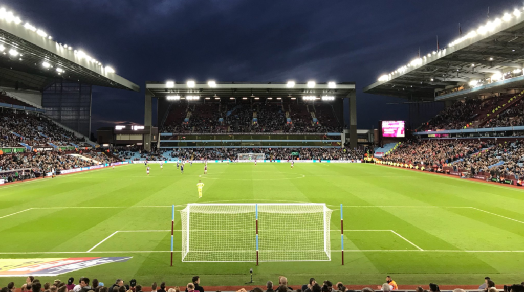 Aston Villa 2 - 1 Nottingham Forest - Villa Park - Holte End 2017