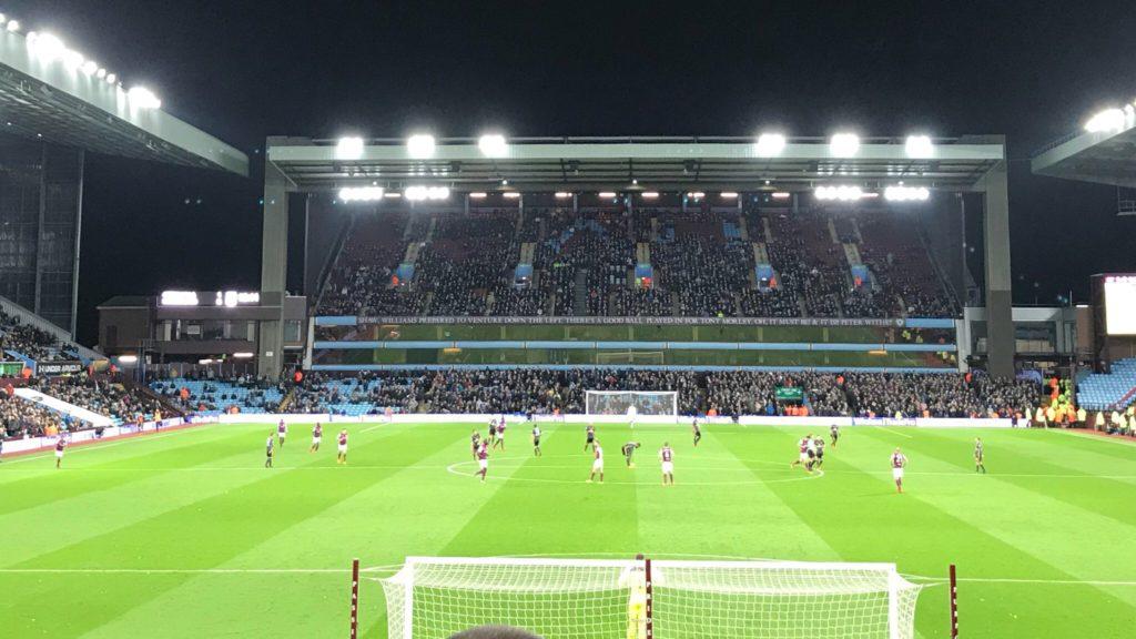 Aston Villa 2 - 1 Sunderland - Villa Park - 21st November 2017