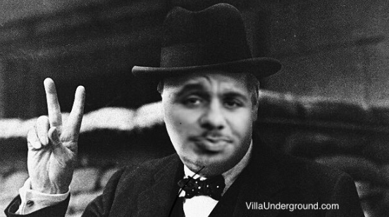 Aston Villa Gabriel Agbonlahor speech Winston Churchill