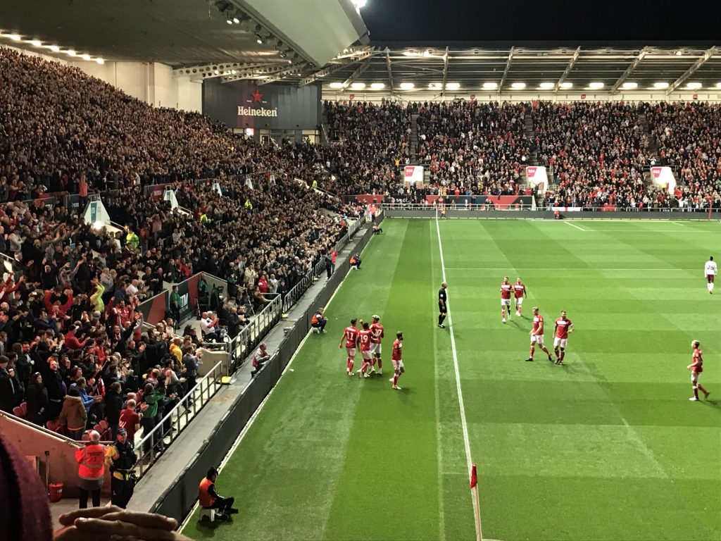 Ashton Gate - Bristol City 1-1 Aston Villa 2018