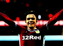 Jack Grealish Blues Aston Villa Goal Birmingham City