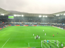 Swansea Liberty Stadium - Twitter Photo Credit: @bw_swfc