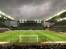 Aston Villa 2-1 Ipswich town holte end