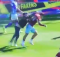 Jack Grealish attacked : Birmingham City v Aston Villa St Andrews