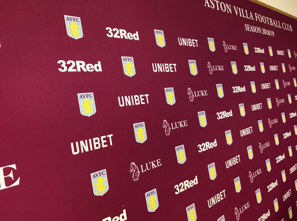 Aston Villa Press Conference Bodymoor Heath