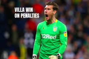 Aston Villa Jed Steer West Bromwich Albion