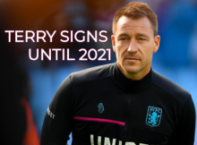 JOHN TERRY SIGNS VILLA 2021 CONTRACT