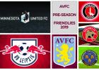 AVFC Pre-season friendlies 2019