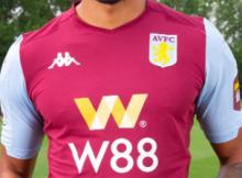 Aston Villa new home shirt