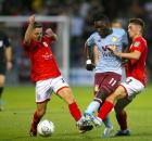 Marvelous Nakamba Aston Villa Crewe Nutmeg