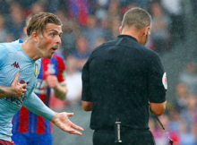 Jack Grealish Aston Villa Crystal Palace Penalty Goal Kevin Friend VAR