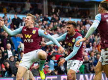 Aston Villa 2-1 Brighton Matt Targett