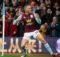 Conor Hourihane scores against Newcastle United at Villa park