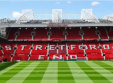 Old Trafford Stretford End Manchester United Aston Villa