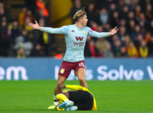 Jack Grealish Watford 3-0 Aston Villa