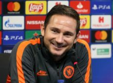 Frank Lampard Chelsea Manager Aston Villa