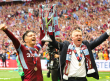 Dean Smith Jack Grealish Wembley Final
