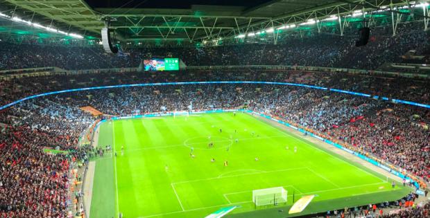 Aston Villa 1-2 Manchester City Wembley 2020 Carabao League Cup Final