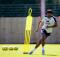 Aston Villa's Tyrone Mings social isolation training Bodymoor Heath Covid-19