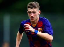 Louie Barry Aston Villa Barcelona