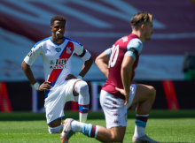 Wilfred Zaha Aston Villa Crystal Palace