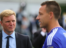 John Terry Bournemouth Manager Eddie Howe