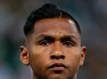 Alfredo Morelos Aston Villa