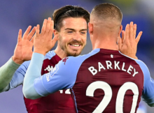 Ross Barkley Jack Grealish Aston Villa Leicester