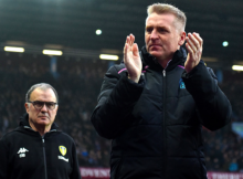dean smith bielsa leeds aston villa