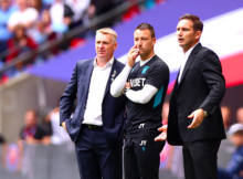 Dean Smith Frank Lampard John Terry