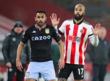 Elmohamady McGoldrick Aston Villa Sheffield United